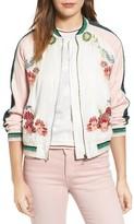 Paul & Joe Sister Women's Les Fleurs Embroidered Bomber Jacket