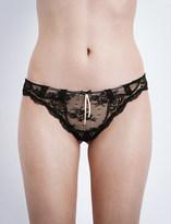 Heidi Klum Intimates Heidi lace bikini briefs