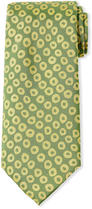 Charvet Aztec Codex Silk Tie