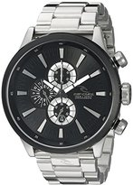 Rip Curl Men's A2833-BLK Recon XL Stainless Steel Bracelet Watch with Black Dial