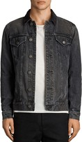 AllSaints Gravel Slim Fit Denim Jacket