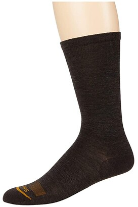 Smartwool Anchor Line Crew 2-Pack (Charcoal) Men's Crew Cut Socks Shoes
