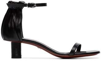 Proenza Schouler gathered heel sandals