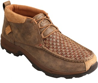 Twisted X Men's Leather Chukka Hiker Loafers