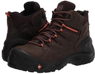 Merrell Work Strongfield Leather 6 Waterproof Composite Toe (Espresso) Men's Boots