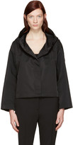 Jil Sander Black Short Copyright Jacket