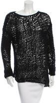 Helmut Lang Open Knit Oversize Sweater