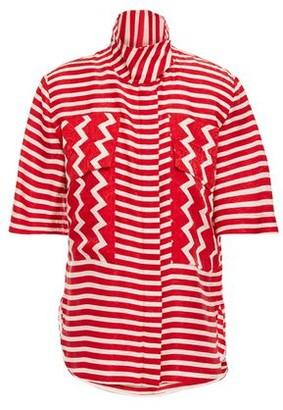 Stella McCartney Striped Silk-moire Shirt