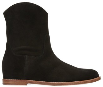 Vince Sinclair Western Suede Boots