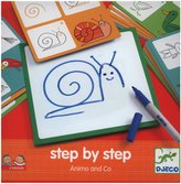 Djeco Step by Step Animo & Company Game Cards