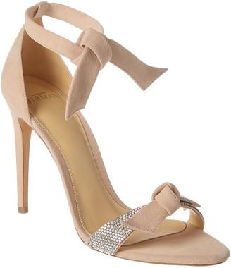 Alexandre Birman Becky 100 Embellished Suede Sandal