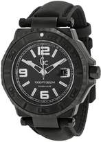 Guess GC-3 Collection Black Dial White Accent Men's Watch