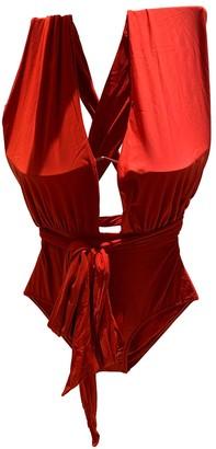 Lenny Niemeyer Red Lycra Swimwear for Women