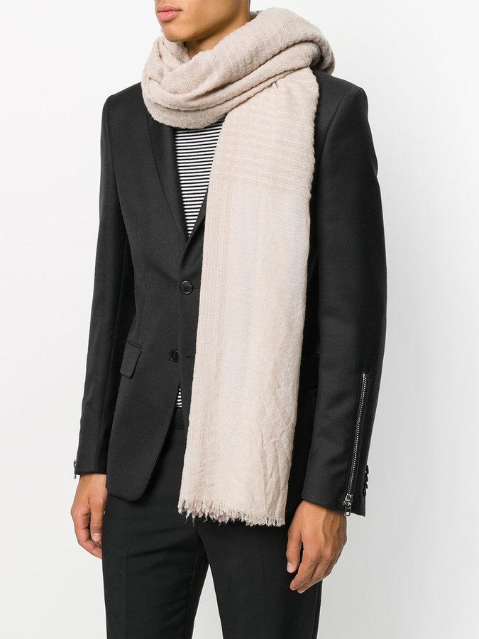 Faliero Sarti Arabella check scarf