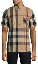 Burberry Thornaby Check Short Sleeve Shirt