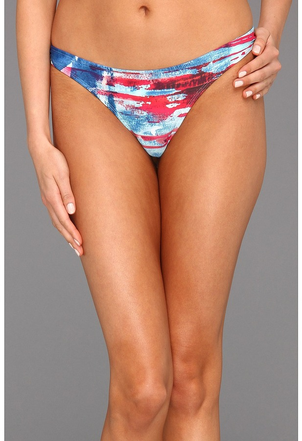 Body Glove Glory Fiji Low Rise Bottom (Denim Blue) - Apparel