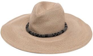 Brunello Cucinelli Woven Sun Hat