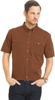 Van Heusen Big & Tall Solid Classic-Fit Poplin Button-Down Shirt