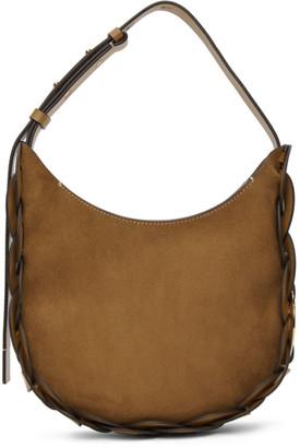 Chloé Brown Suede Small Darryl Bag