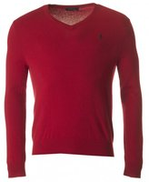 Polo Ralph Lauren V Neck Lambswool Knit