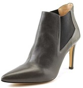 Alexandra 3514 Women Pointed Toe Leather Gray Bootie.