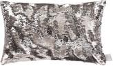 Aviva Stanoff Two Tone Mermaid Sequin Cushion - Smoke - 30x45cm