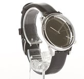 Komono Women's 'Estelle' Quartz Stainless Steel and Leather Dress Watch, Color:Black (Model: KOM-W2871)