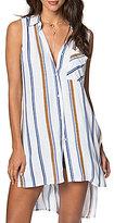 O'Neill Maryana Striped Sleeveless High-Low Tunic