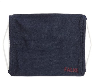 Falke Set Of Two Face Coverings - Navy