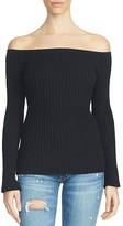 1 STATE 1.STATE Off-The-Shoulder Sweater