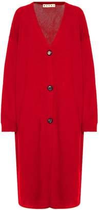 Marni Oversized wool cardigan