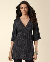 Soma Intimates Kimono-Sleeve Tunic Handkerchief Grey