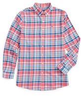 Vineyard Vines Boy's Middleton Plaid Flannel Shirt