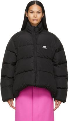 Balenciaga Black BB C-Shape Puffer Jacket
