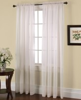 "Miller Curtains Solunar Crushed Voile 54"" x 84"" Insulating Sheer Curtain Panel"