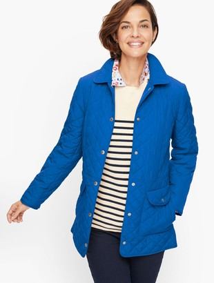 Talbots Quilted Barn Jacket