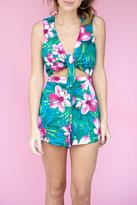 Show Me Your Mumu Hawaiian Print Romper