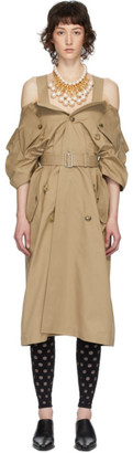 Junya Watanabe Beige Trench Dress