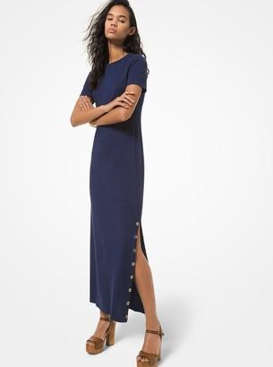 MICHAEL Michael Kors Cotton Blend Midi T-Shirt Dress