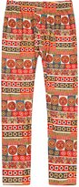 Richie House Girls' Patterned Stretchy Legging Pants RH0704-N-4/5