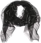 Valentino Garavani Panther Printed Modal, Cashmere And Silk Scarf