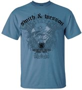 Smith & Wesson Men's Eagle Gun T-Shirt (Slate - 2XL)