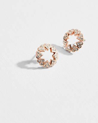 Ted Baker HAPNA Heart star earrings