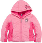 Hello Kitty Girls Heavyweight Puffer Jacket-Preschool