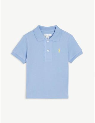 Ralph Lauren Logo cotton polo shirt 3-24 months