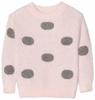 Name It Girl's Nkfrulie Ls Knit Box Jumper
