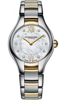 Raymond Weil Ladies Noemia 24mm Diamond Watch 5124-STP-00985