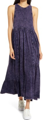 Ninety Percent Stonewash Sleeveless Maxi Dress