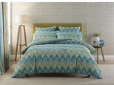 Harlequin Groove Green Quilt Cover Queen