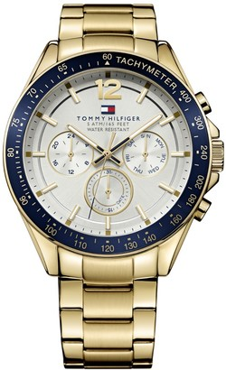 Tommy Hilfiger Luke Chronograph Watch Gold